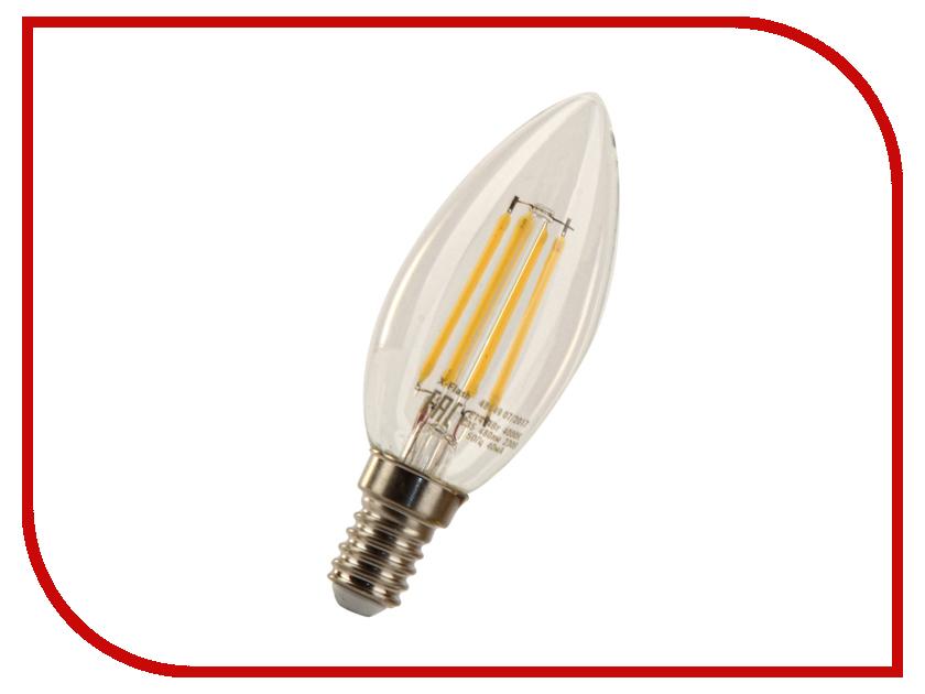 все цены на Лампочка X-flash XF-E14-FL-C35-4W-4000K-230V 48649 онлайн