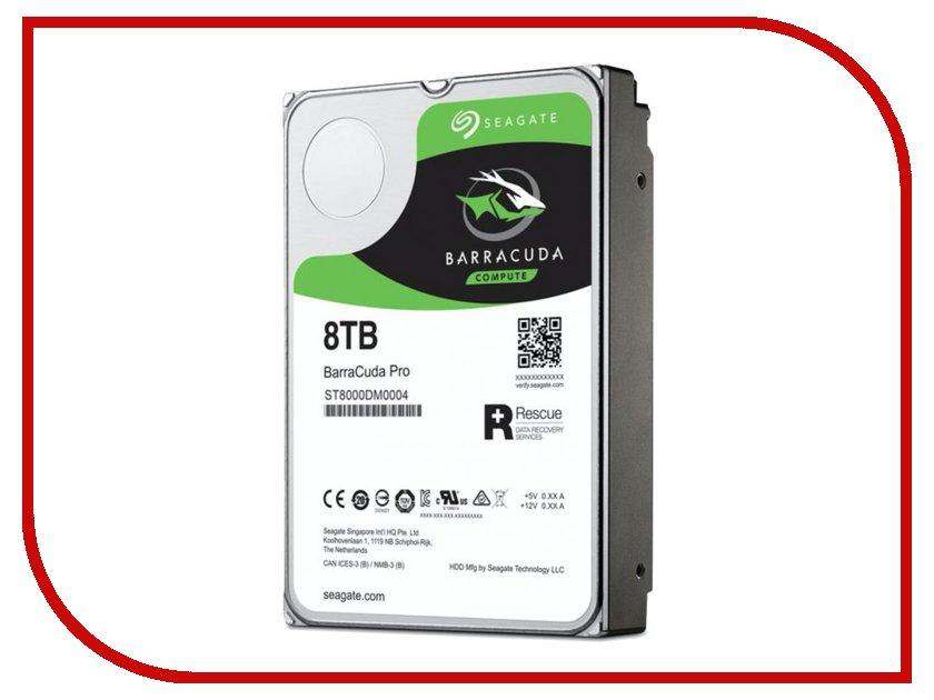 Жесткий диск 8Tb - Seagate ST8000DM0004 жесткий диск 500gb seagate st500lt012 laptop thin
