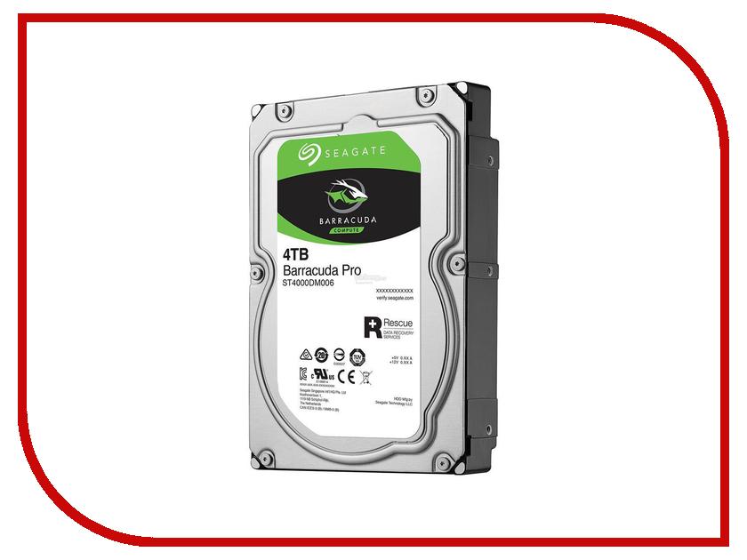 Жесткий диск 4Tb - Seagate ST4000DM006 жесткий диск 2tb seagate st2000nm0045