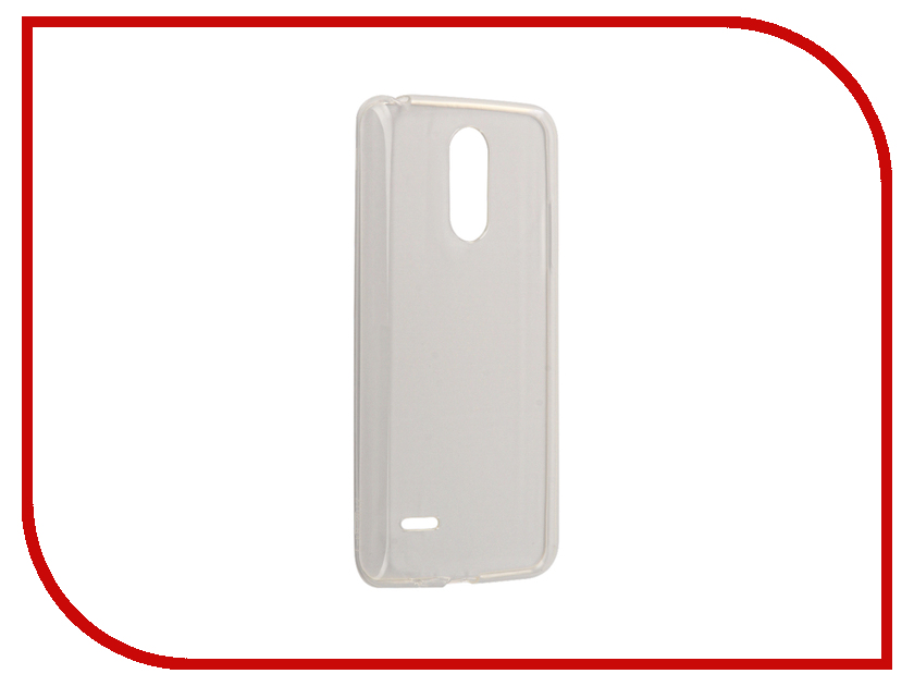 Аксессуар Чехол LG K8 2017 Zibelino Ultra Thin Case White ZUTC-LG-K8-2017-WHT zutc motr mot m