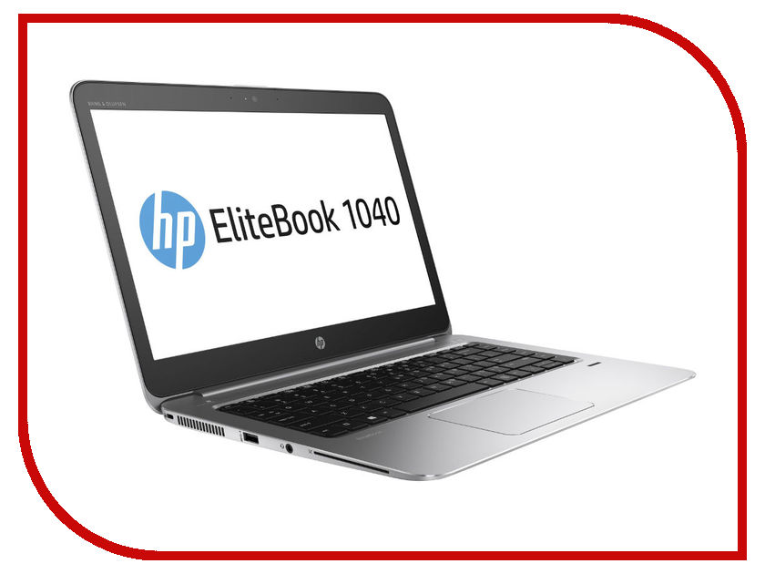 Ноутбук HP EliteBook 1040 G3 1EN19EA (Intel Core i5-6200U 2.3 GHz / 8192Mb / 256Gb / No ODD / Intel HD Graphics / Wi-Fi / Bluetooth / Cam / 14 / 1920x1080 / Windows 10 64-bit)