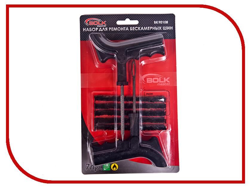 Набор BOLK BK90108 для ремонта бескамерных шин аксессуар bolk bk90123 набор для ремонта бескамерных шин и резиновых изделий