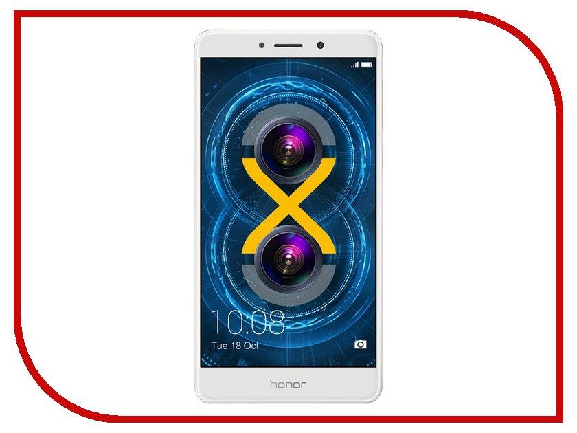 Сотовый телефон Huawei Honor 6X 4Gb RAM 64Gb Gold сотовый телефон huawei honor 8 4gb ram 64gb frd l19 blue
