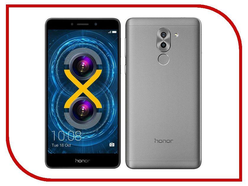 Сотовый телефон Huawei Honor 6X 4Gb RAM 64Gb Grey сотовый телефон huawei honor 8 4gb ram 64gb frd l19 blue
