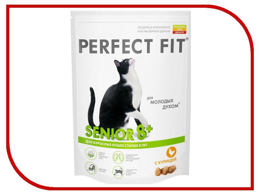 Корм Perfect Fit Курица 650g 10150094/10156001 для зрелых кошек корм для кошек perfect fit купить
