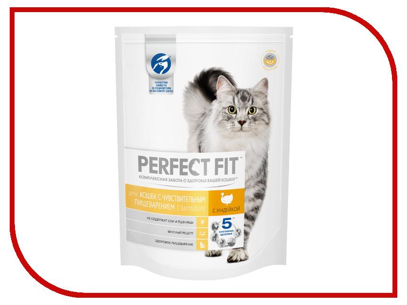 Корм Perfect Fit Индейка 650g 10162223 для чувствительных кошек корм для кошек perfect fit купить