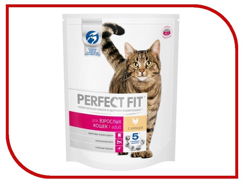Корм Perfect Fit Курица 650g 10162229 для кошек корм для кошек perfect fit купить