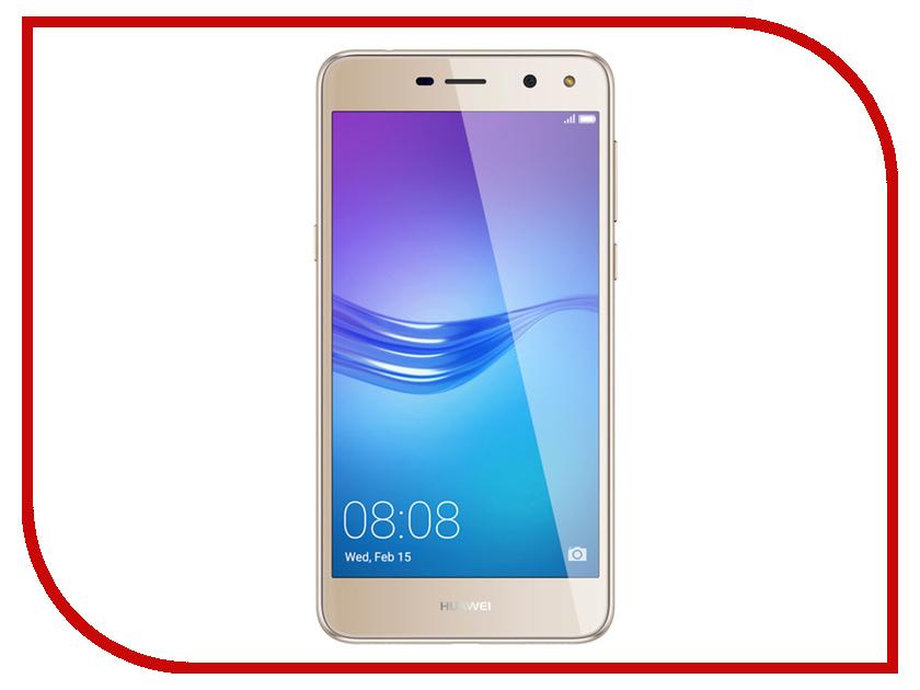 Сотовый телефон Huawei Y5 2017 Gold смартфон huawei y5 2017 lte gold