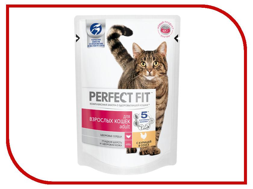 Корм Perfect Fit Курица 85g 10163731 для взрослых кошек