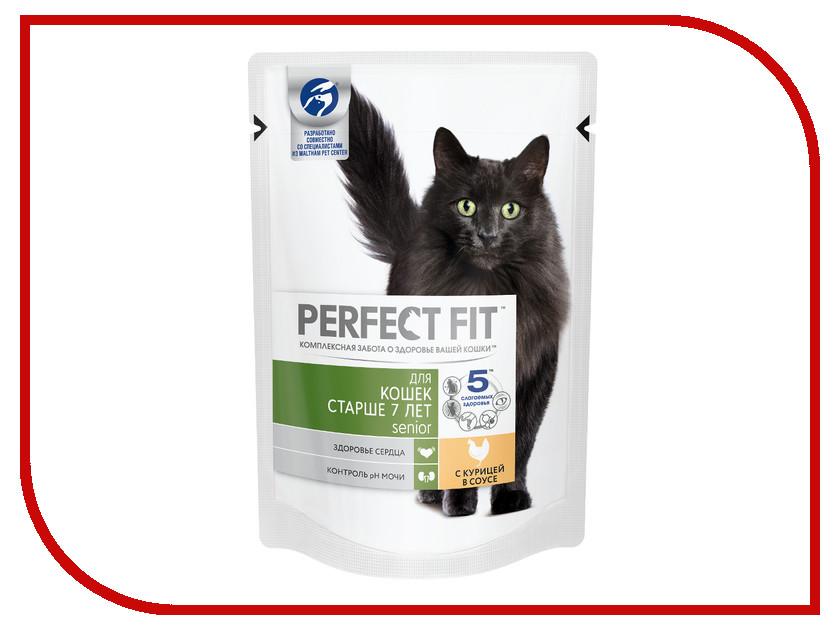 Корм Perfect Fit 85g 10164480 для кошек старше 7 лет корм probalance in homme 8 85g для малоподвижных кошек и кошек старше 8 и лет