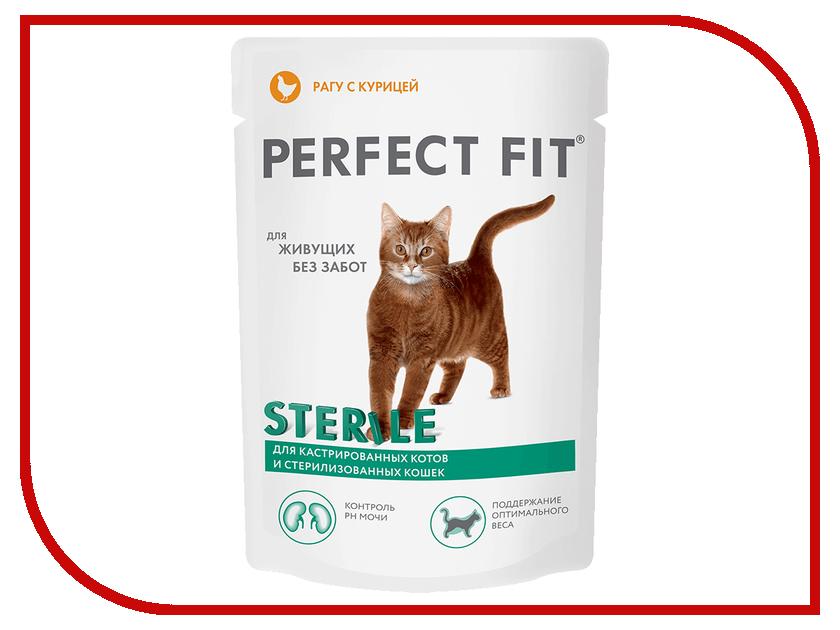 Корм Perfect Fit 85g 10164482/10117170 для кастрированных котов и стерилизованных кошек