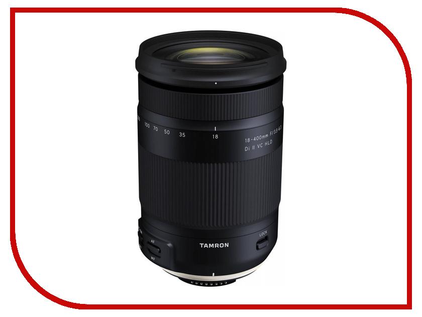 Объектив Tamron Nikon 18-400mm F/3.5-6.3 Di II VC HLD профессиональная цифровая slr камера nikon d3200 18 55mmvr