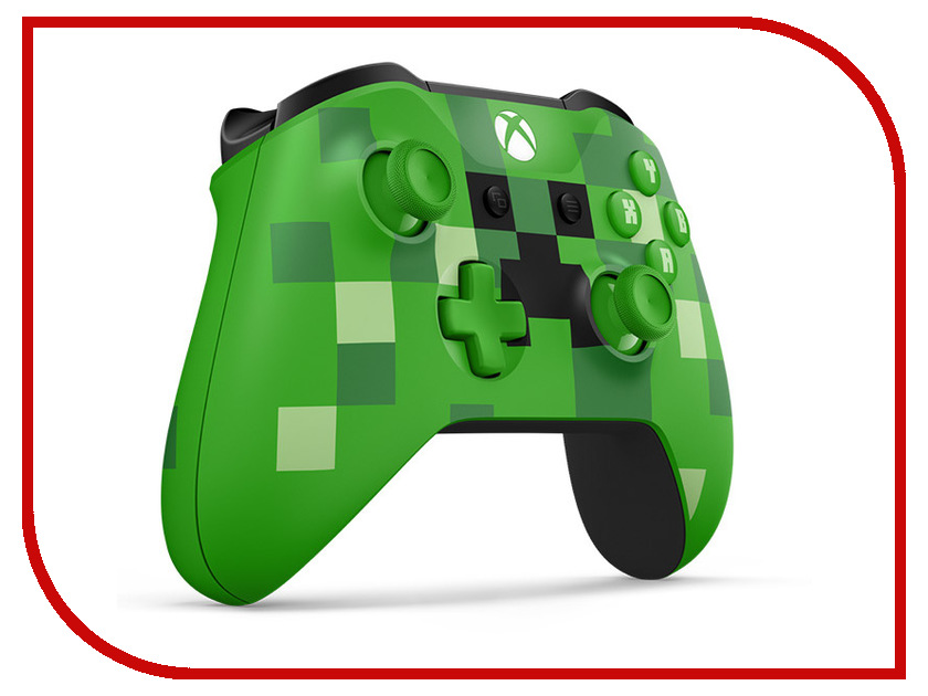 Геймпад Microsoft XBOX Wireless Controller Minecraft Creeper геймпад microsoft xbox one controller minecraft creeper wl3 00057