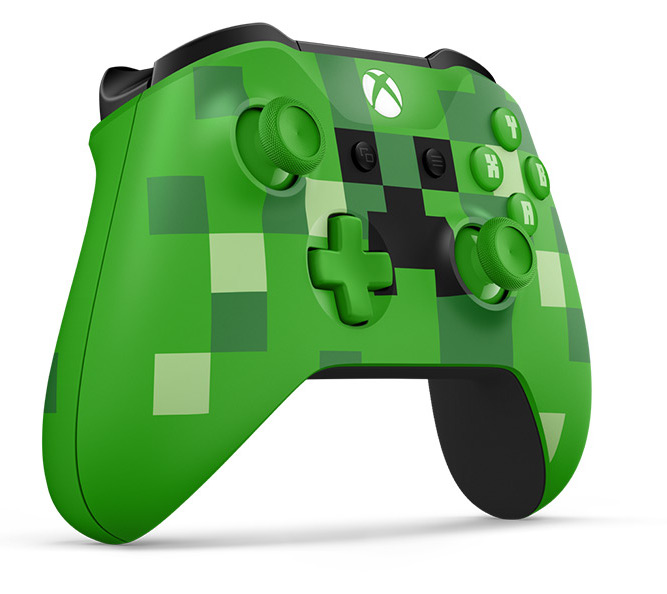 Геймпад Microsoft XBOX Wireless Controller Minecraft Creeper