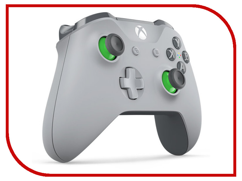 Геймпад Microsoft XBOX One Wireless Controller Gray-Green WL3-00061 геймпад игра microsoft xbox one wireless controller gears of war ultimate edition