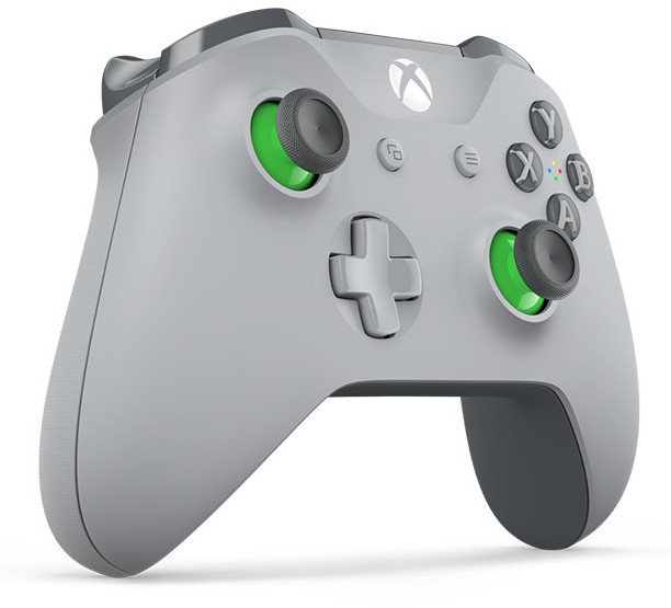 Геймпад Microsoft XBOX One Wireless Controller Gray-Green WL3-00061 цена и фото