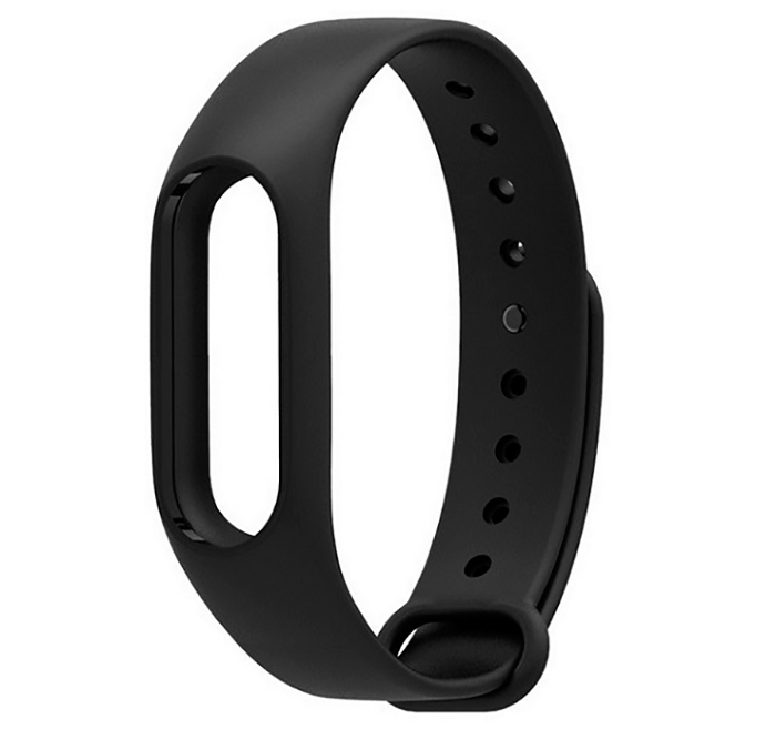 Aксессуар Ремешок Xiaomi Mi Band 2 Silicone Black