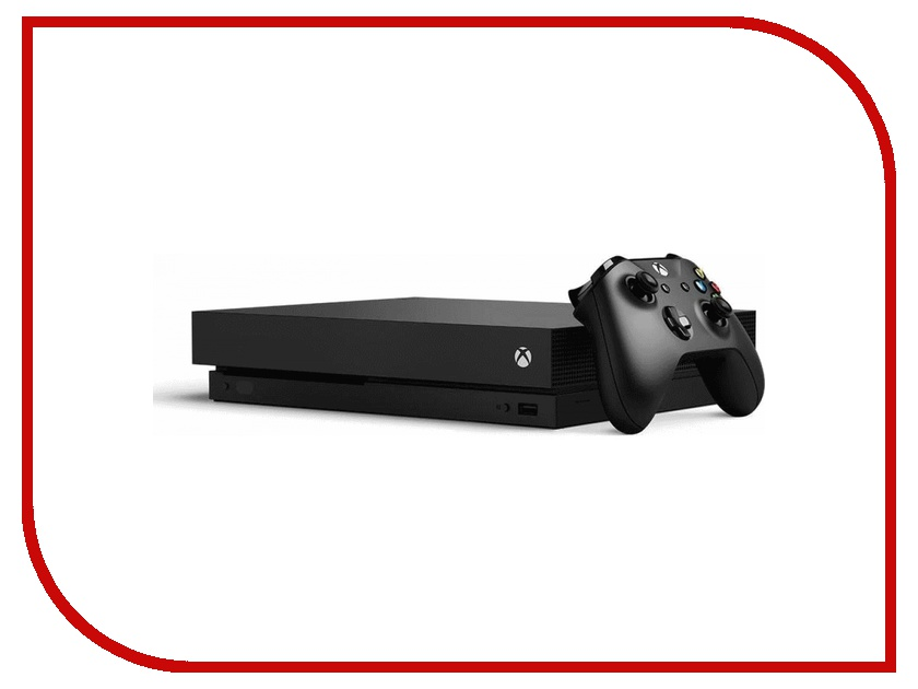 Игровая приставка Microsoft XBOX One X 1Tb Black CYV-00011 portable wall mount stand holder for xbox one kinect 2 0 sensor black