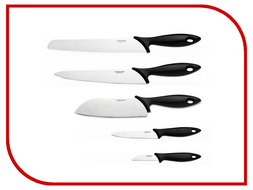 Набор ножей Fiskars Essenttial 1023782 сучкорез fiskars woodxpert 1003621