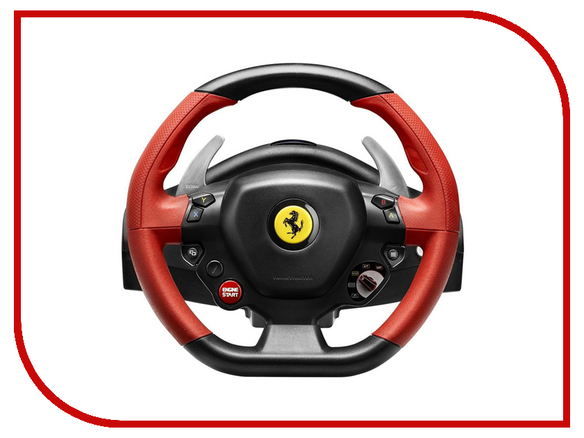 Руль Thrustmaster Ferrari 458 Spider Racing Wheel XBOX One THR21 4460105 руль thrustmaster tx rw leather edition eu xbox one pc 4460133