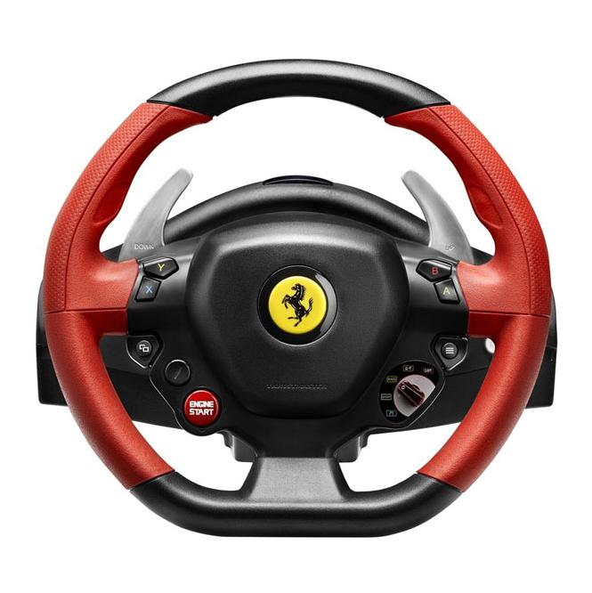 Руль Thrustmaster Ferrari 458 Spider Racing Wheel XBOX One THR21 4460105 цена