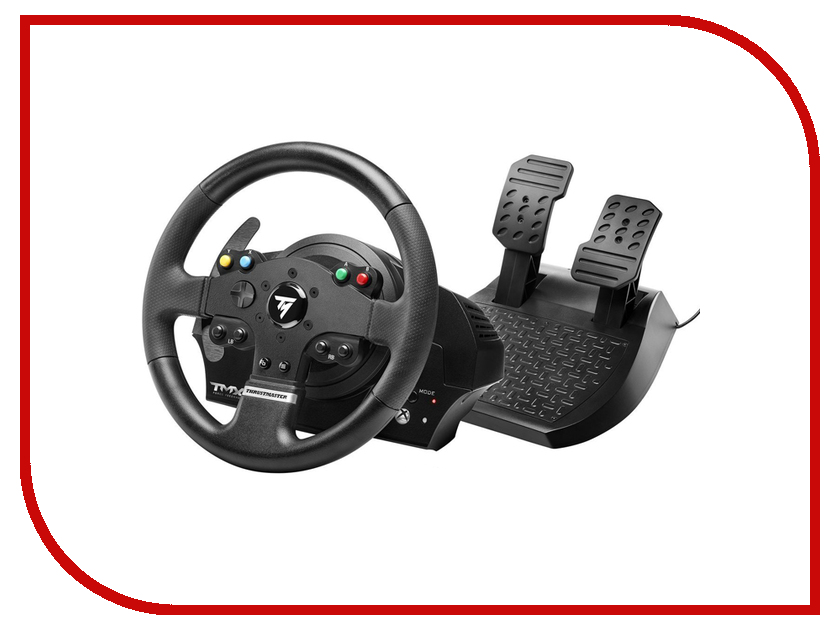 Руль Thrustmaster TMX FFB EU Version XBOX One/PC THR43 4460136 руль thrustmaster tx rw leather edition eu xbox one pc 4460133