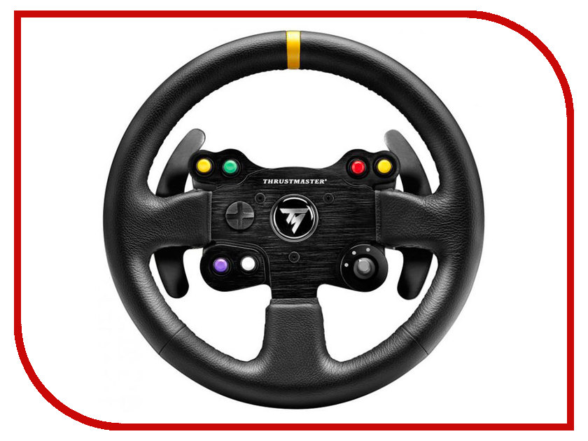 Руль Thrustmaster TM Leather 28GT Wheel Add-On PS4/PS3/PC/XBOX One THR7 4060057 6pcs lot soft thumb grips thumbstick joystick high enhancements cover caps skin fit for sony play station 4 ps4 ps3 xbox 360