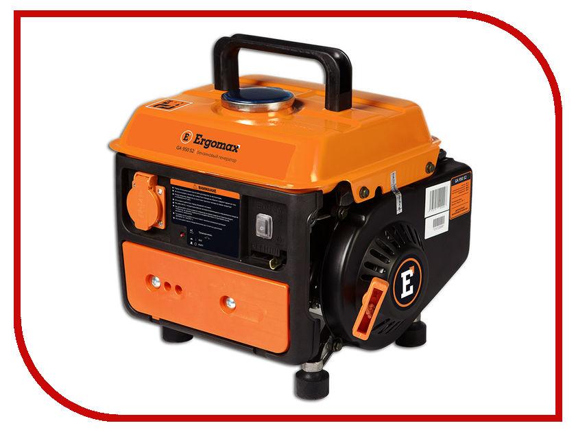 Электрогенератор Ergomax GA950 S2 генератор бензиновый ergomax er 3400e
