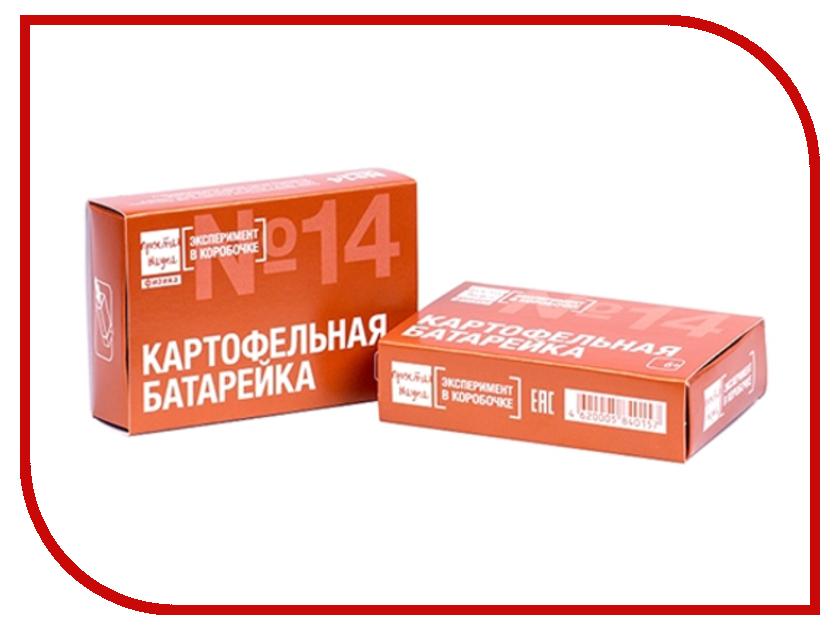 Игра Bumbaram Эксперимент в коробочке Картофельная Батарейка 0-314 357a батарейка