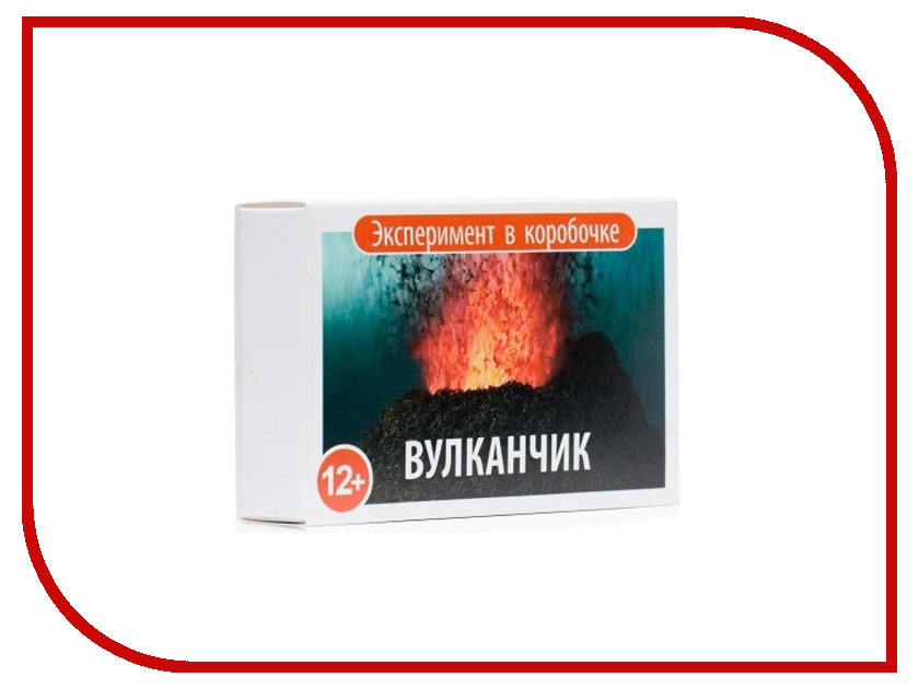 Игра Bumbaram Эксперимент в коробочке Вулканчик 00-304 игра bumbaram электролиз x027