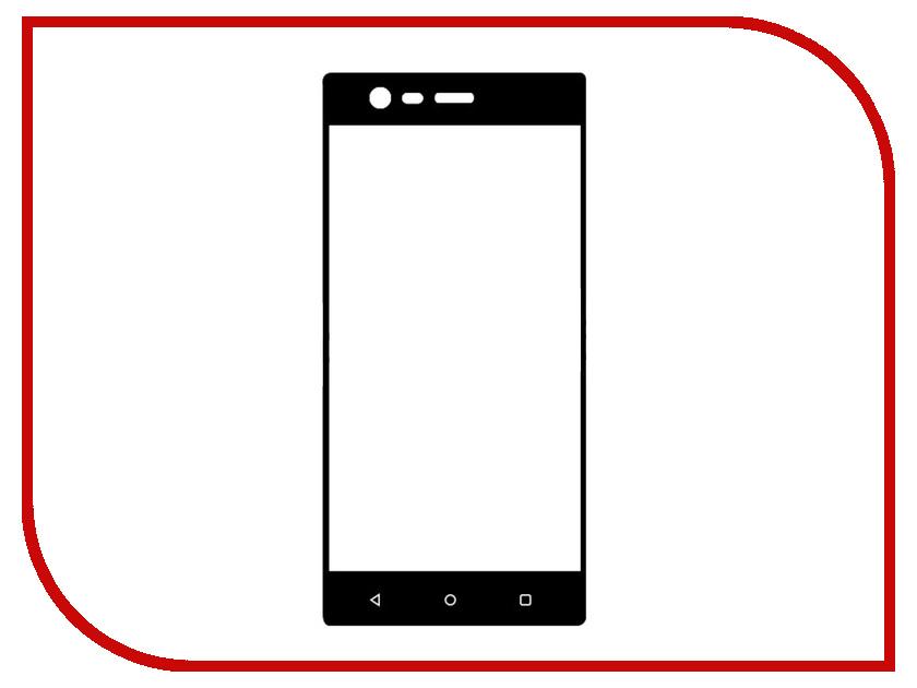 Аксессуар Защитное стекло Nokia 3 Svekla Full Screen Black ZS-SVNO3-BL