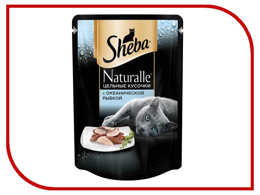 Корм Sheba Пауч Naturalle Рыба 80g 10168280