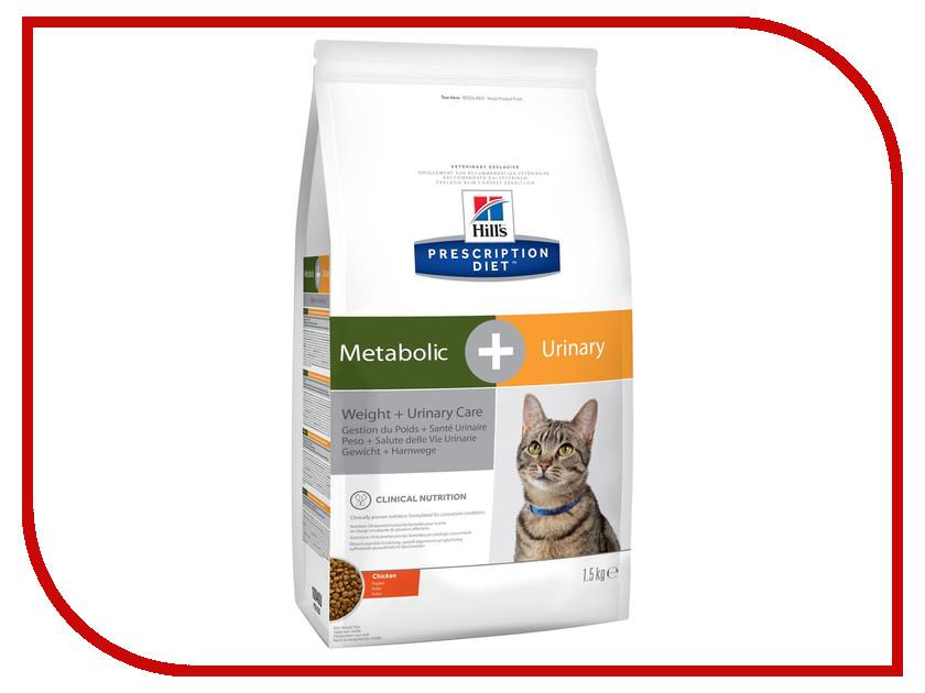 Корм Hills Metabolic + Urinary Диета для коррекции веса + Урология 1.5kg для кошек 10040 transparent female catheterization model urinary catheterization training simulator