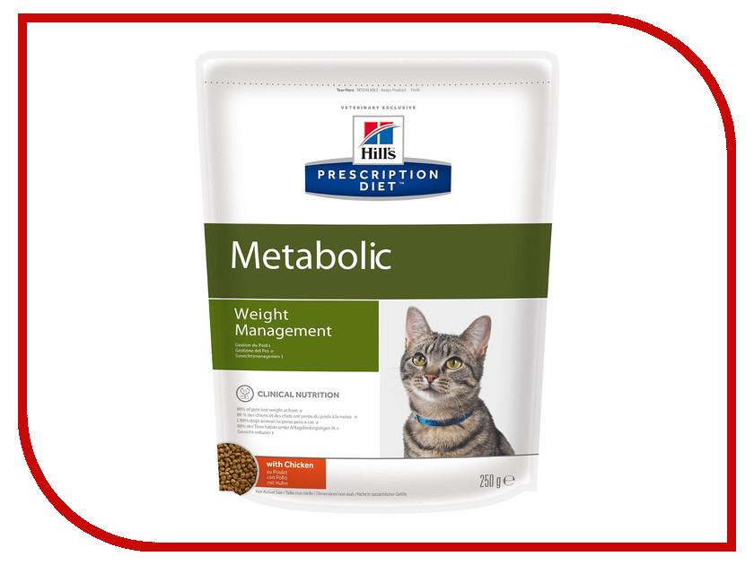 Корм Hills Metabolic Полноценный Диетический рацион при коррекции вес 250g для кошек 2146 5 boxes super calcium powder with metabolic factors 10g bag 10 bags