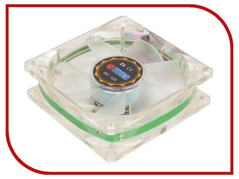 Вентилятор TITAN TFD-C8025L12Z/LD1(RB) 80x80x25mm (z-axis 3-PIN 2000 RPM < 23 dBA) Red Blue Green вентилятор titan tfd c8025l12z ld1 rb 80x80x25mm z axis 3 pin 2000 rpm 23 dba red blue green