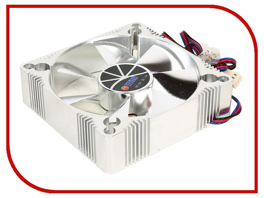 Вентилятор TITAN TFD-A9225L12Z(RB) 92x92x25mm (z-axis 3-PIN 1800 RPM < 22 dBA) Aluminum Frame Fan titan tfd 12025h12zp ku rb