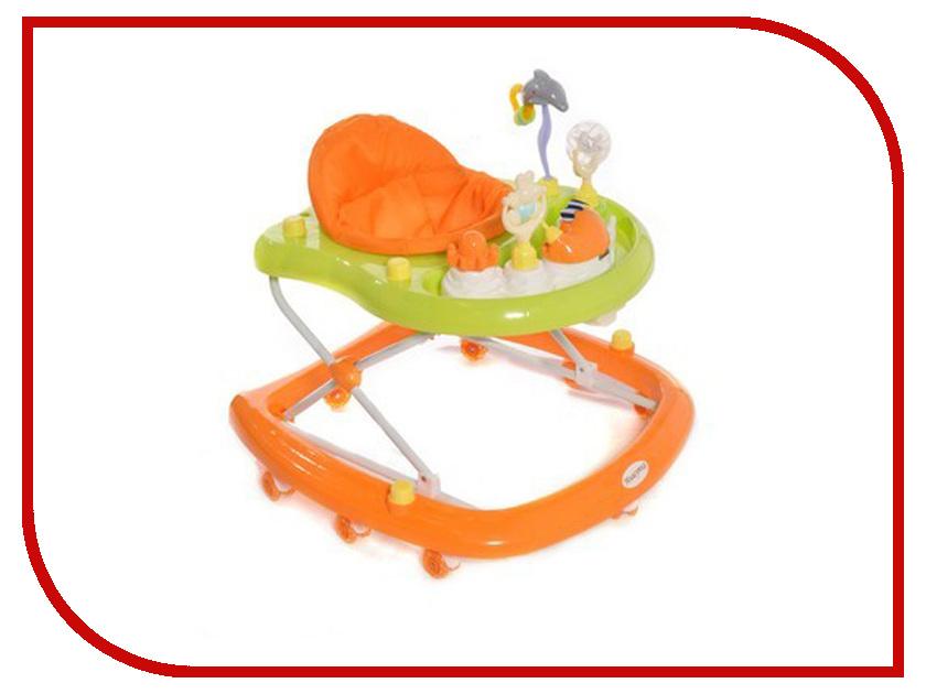 Ходунки Мишутка 1001 Orange санки galaxy мишутка 1 универсал оранжевые