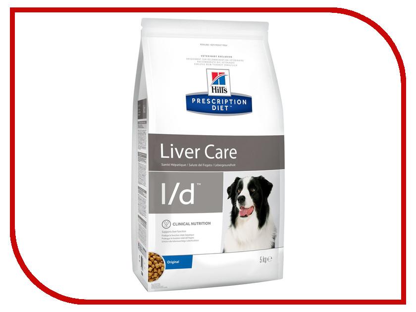Корм Hills L/D Полноценный Диетический рацион при заболеваний печени 5kg для собак 7339 гепатиум фитопрепарат для печени