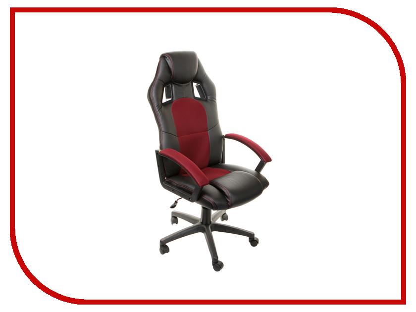 Компьютерное кресло TetChair Driver Black-Bordo 36-6/13 компьютерное кресло tetchair step ромашки на зеленом