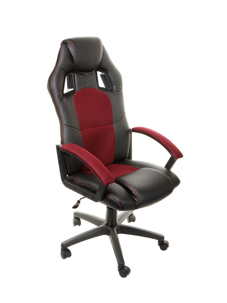 Компьютерное кресло TetChair Driver Black-Bordo 10373