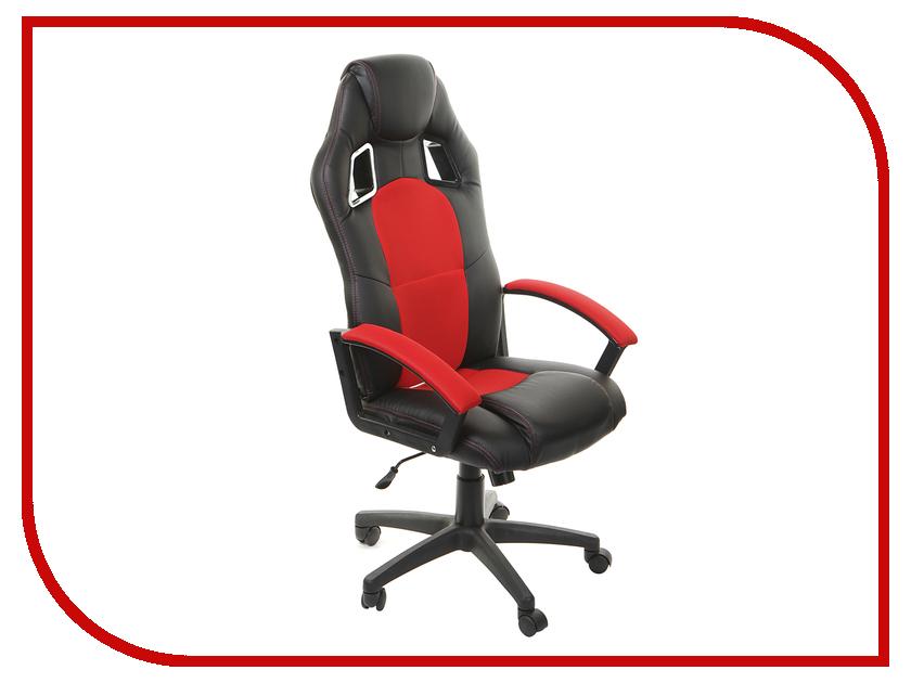 Компьютерное кресло TetChair Driver Black-Red 10 371 dxracer oh ea01 nr компьютерное кресло black red