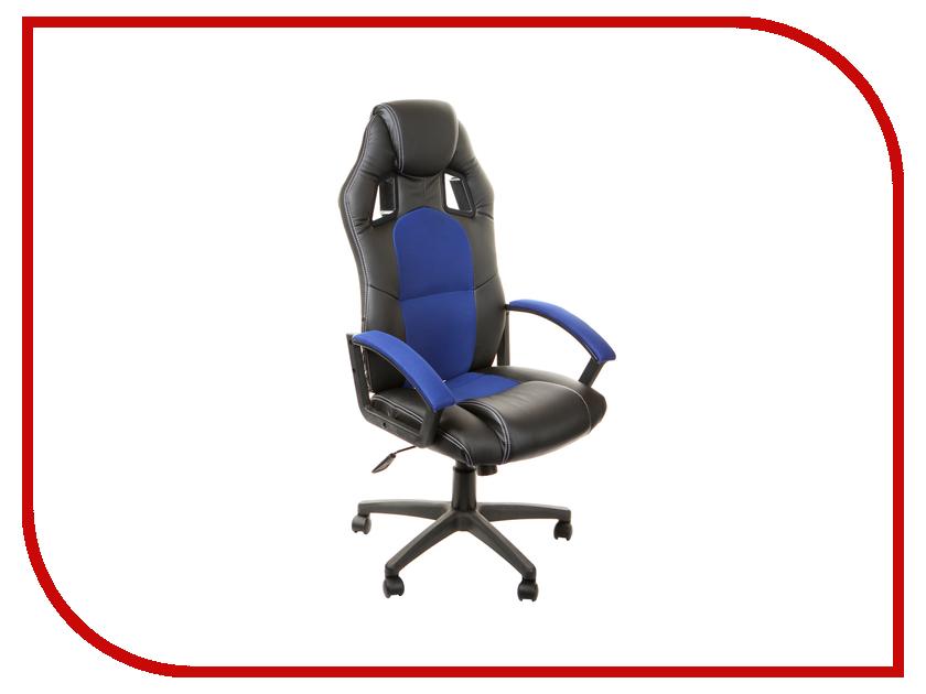 Компьютерное кресло TetChair Driver Black-Blue 10 359 dxracer oh ea01 nr компьютерное кресло black red