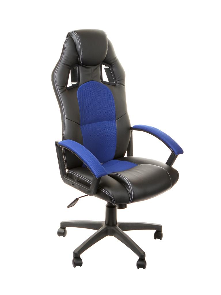 Компьютерное кресло TetChair Driver Black-Blue 10359