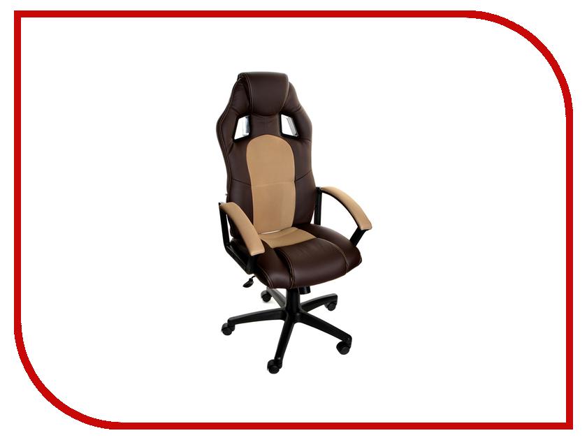Компьютерное кресло TetChair Driver Brown-Bronze 36-36/21 компьютерное кресло tetchair spectrum бежевый красный