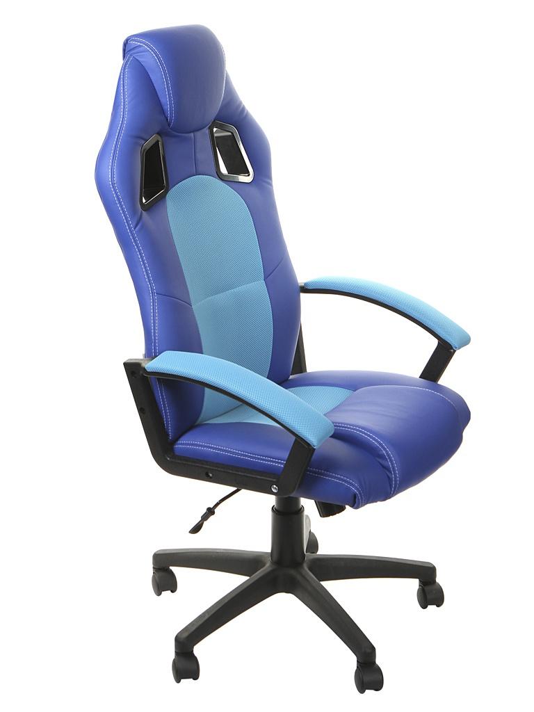 Компьютерное кресло TetChair Driver Blue-Turquoise 10583