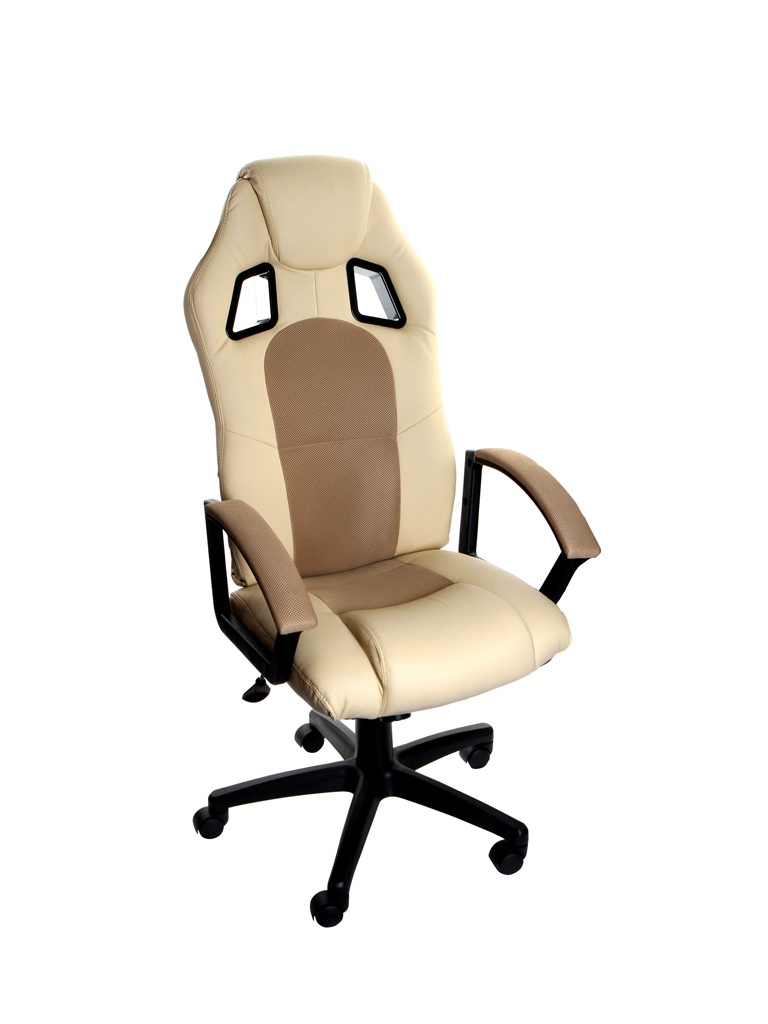 Компьютерное кресло TetChair Driver Beige-Bronze 10582