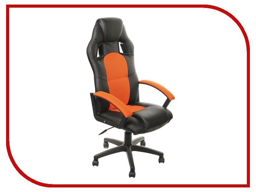 Компьютерное кресло TetChair Driver Black-Orange 36-6/07 компьютерное кресло tetchair spectrum бежевый красный