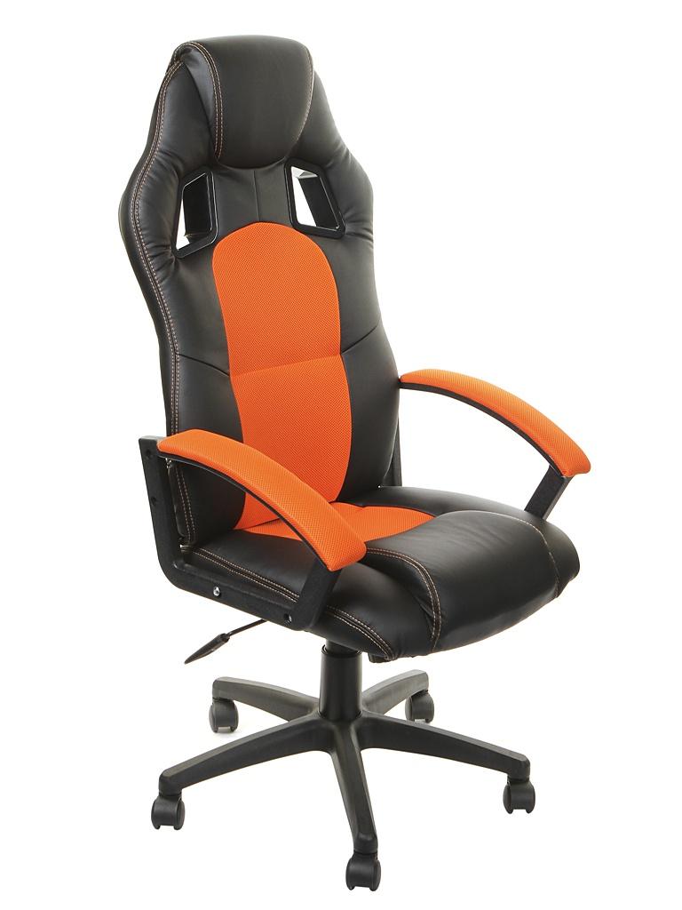 Компьютерное кресло TetChair Driver Black-Orange 10542