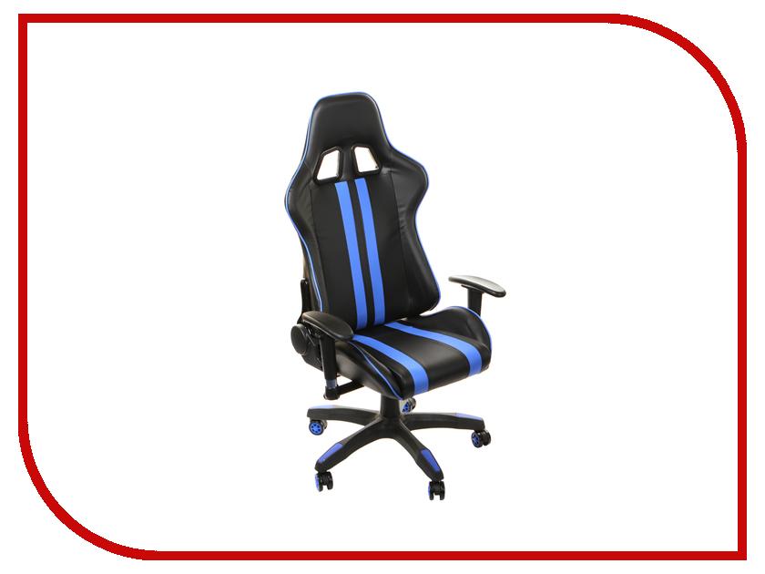 Компьютерное кресло TetChair iCar Black-Blue компьютерное кресло tetchair step ромашки на зеленом