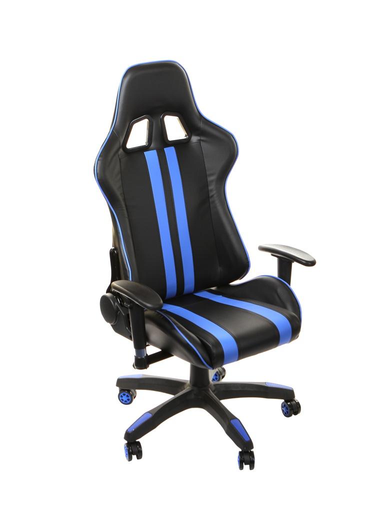 Компьютерное кресло TetChair iCar Black-Blue 10726